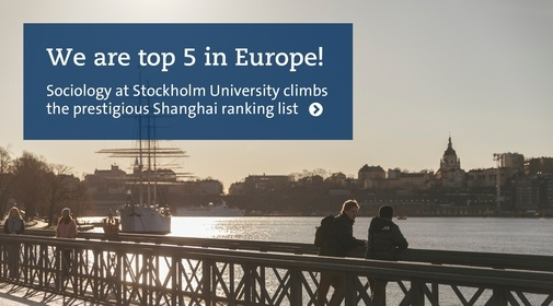 Text: We are top 5 in Europe! Pic: Skeppsholmen, Stockholm. Photo:Niklas Björling