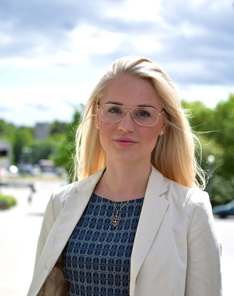 Amanda Valldor. Foto: Stockholms universitet